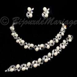 """""""Lupe"""" parure bijoux, perles, 5111-12112012"""